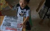Bé 3 tuổi đọc viết vanh vách, 'nghiện' chữ hơn đồ chơi
